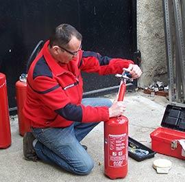 Ricarica E Manutenzione Estintori Sta Servizio Tecnico Antincendio